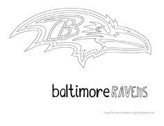 Baltimore Ravens Gift Tags | Baltimore Ravens Printables | Pinterest