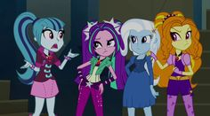 Trixie's Dirty Tricks - MLP: Equestria Girls - Rainbow Rocks! [HD]