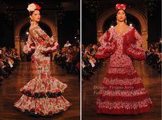 De flores y estampados para Feria 2015   Moda Flamenca por Claudia Alfaro · Entre Cirios y Volantes.