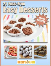 No Bake Recipes: 21 Fuss-Free Easy Desserts | http://paperloveanddreams.com/book/879610458/no-bake-recipes-21-fuss-free-easy-desserts | There are no desserts easier to make than fuss-free no bake recipes. Perfect any time of year, these toothsome treats will become your family's favorite with each savory bite. From decadent dessert bars, to luscious pies, there are a variety of no bake easy desserts in this eCookbook that will be considered blue ribbon winners.If you don't have time to make…