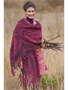 large crochet shawl pattern