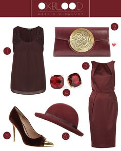 Heels and Sunkissed Curls: Wishlust: Oxblood