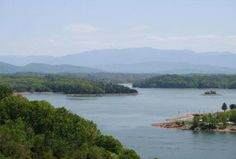 Douglas Lake Near Knoxville, Tennessee