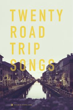 The perfect playlist is so essential for the best road trip. Don't let yourself get bored while on the road with these 20 songs! Road Trip Songs, Road Trip Music, Road Trip Hacks, Family Road Trips, Family Travel, Travel Kids, Travel Songs, Playlists, Perfect Road Trip
