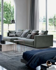 Sofa, Couch, E Design, Living Spaces, Comfort, Furniture, Home Decor, Blur, Living Room
