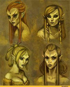 The Elder Scrolls,фэндомы,Skyrim,altmer,TES расы,elanorchuah