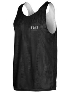 AP993 Men's Tank Top Jersey-Uniform is Reversible to White-Great for Basketball, Football, Soccer, Lacrosse, and Practices-Colors available in Black, Green, Royal, Red, Navy and More-Sizes SM-XXXL Game Gear. $10.40
