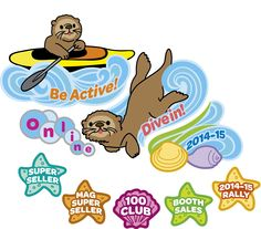 2014-2015 Girl Scout QSP Product Sale Clip Art - Patches/Logos/Products/Recognitions