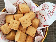 簡単☆米粉と豆腐の厚焼ききな粉クッキー。の画像