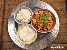 Indiai uborkasaláta sárgarépával (raita) Chana Masala, Grains, Curry, Ethnic Recipes, Food, Mint, Cilantro, Yogurt, Curries