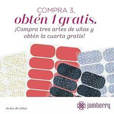 BUY THREE GET ONE FREE Go to lucia99.jamberry.com Compra tres y te regalo UNA! En lucia99.jamberry.com
