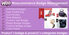 Define a Badge for your WooCommerce products. This Extension can be used for Single Product, Single Category Product , Multi Categories , All The Store and many other Options.