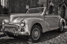 Peugeot 203 Cabriolet 1952. ✏✏✏✏✏✏✏✏✏✏✏✏✏✏✏✏ IDEE CADEAU / CUTE GIFT IDEA ☞ http://gabyfeeriefr.tumblr.com/archive ✏✏✏✏✏✏✏✏✏✏✏✏✏✏✏✏
