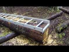 Milling logs into Lumber - YouTube