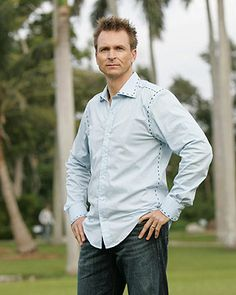 Phil Keoghan. The man knows how to wear a pair of pants, that's all I'm sayin'.