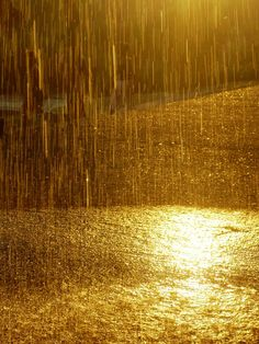 The sound of rain falling is like a sweet song that my heart sings to. the thunder is my drums and the lightning is my applause.