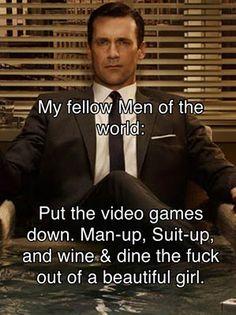 Amen Mr. Draper!