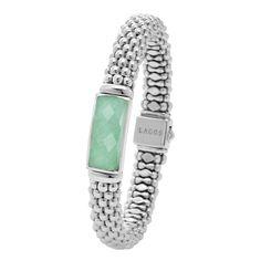 LAGOS | Maya Caviar Beaded Bracelet in Variscite