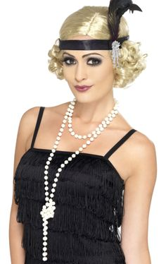 Great Gatsby Charleston Flapper Fancy Dress Costume Accessories in Clothes, Shoes & Accessories, Fancy Dress & Period Costume, Fancy Dress Gatsby Look, Gatsby Style, Flapper Style, Flapper Fashion, 1920s Style, Flapper Girls, 1920s Flapper Costume, Flapper Headpiece, 1920s Fancy Dress