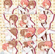 "Saeyoung ""Luciel"" Choi X MC, Mystic Messenger Seven Mystic Messenger, Mystic Messenger Fanart, Mystic Messenger Memes, Anime Love, Anime Guys, Jumin X Mc, Luciel Choi, Jumin Han, Saeran"