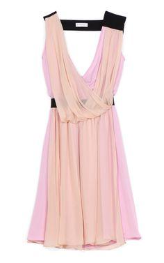 Silk Georgette Cocktail Dress by Vionnet