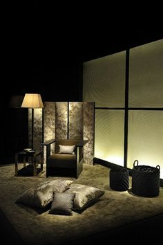 Harmony and essential lines characterise Giorgio Armani's Home collection shown at Milan's furniture trade show Armani Interiors, Armani Home, Interior Architecture, Interior Design, Home Collections, Home Decor Accessories, Giorgio Armani, Interior Inspiration, Luxury