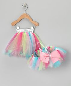 Take a look at this Pink Tutu & Easter Basket - Infant, Toddler & Girls by All the Little Things on #zulily today!
