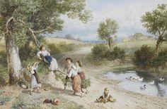 The Swing - Myles Birket Foster