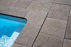 Pavimento e bordadura Montagna em pedra natural reconstituída Fabistone