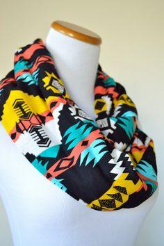 Bold Tribal Infinity Scarf Cute Scarfs, Scarf Belt, Poncho, Bandana, Scarf Styles, Dress To Impress, Infinity Scarfs, Personal Taste, Passion For Fashion
