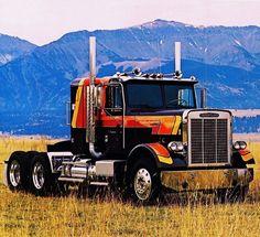 Big Rig Trucks, Semi Trucks, Cool Trucks, Pickup Trucks, Custom Big Rigs, Custom Trucks, Truck Bed Accessories, Trailers, Freightliner Trucks