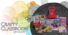 Win this CRAFTY CLASSROOM Gift Basket!