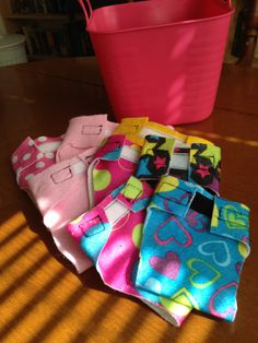 DIY Doll Diapers