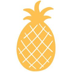 silhouette pineapple silhouettedesignstore doodles doodle stencils craft