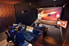Editing Suite ...Put me in that and I'm bringing home an Oscar!