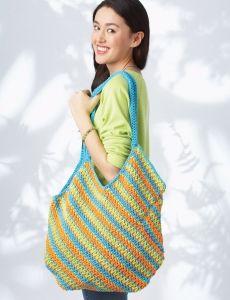 Hobo Bag   Yarn   Free Knitting Patterns   Crochet Patterns   Yarnspirations