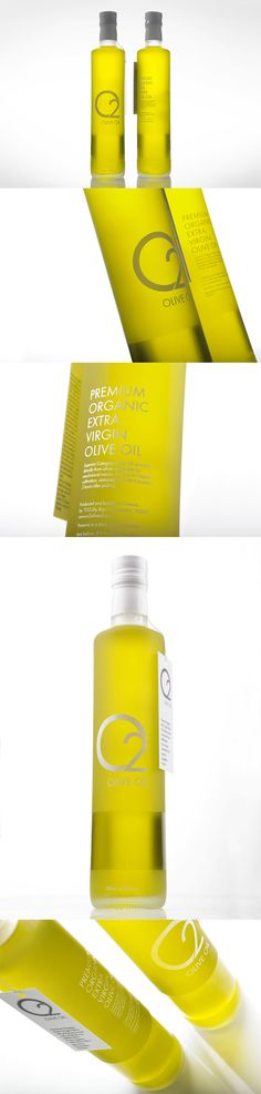 For some reason olive oil bottles get a lot of design attention. It's great though.   O2 Olive Oil