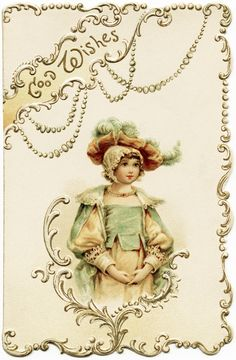 Old Design Shop ~ free digital image: a lovely Victorian Raphael Tuck and Sons' Christmas card