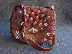 Leather Hippie Purse (70's)