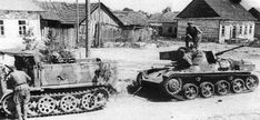 A Toldi tank captured by the Soviets