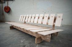 Sleeping sofa prototype #1 by Johannes N. Hegdahl, via Behance