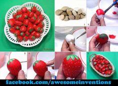 Strawberry Stones! Creative!