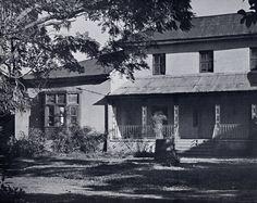 The houses of Balmain, Birchgrove House, 67 Louisa Road, demolished in 1960s.