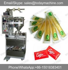 automatic small business condensed milk ketchup tomato sauce paste honey sachet stick packaging machine for liquid Jam Packaging, Packaging Machine, Cheap Vacuum, Commercial, Packaging Solutions, Tomato Paste, Ketchup, Popcorn Maker, Espresso Machine