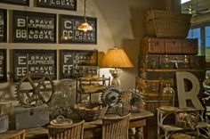 Industrial eye candy - featured on Living Vintage's Friday Favorites