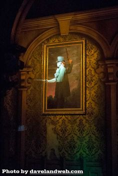 Sadly, I couldn't really see this at the Haunted Mansion at Disneyland because Jack Skellington had taken over. Still sad that I didn't get to experience the classic ride. Even though I technically rode it twice.