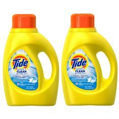 En Walgreens puedes conseguir el detergente liquido Tide Simply Clean & Fresh de 19-25 lavadas a $2.99 en especial desde el 10/15-10/21 ..