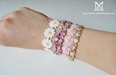 Easy DIY macramé bracelets