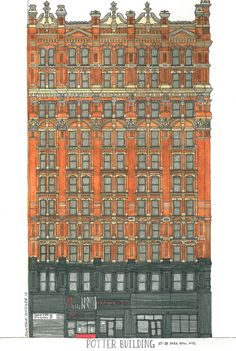 Don't Forget to Look Up: Potter Building « Untapped Cities