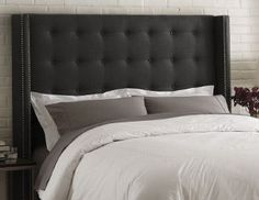 I pinned this from the Skyline - Beds, Chairs, Ottomans, Headboards & More event at Joss and Main!